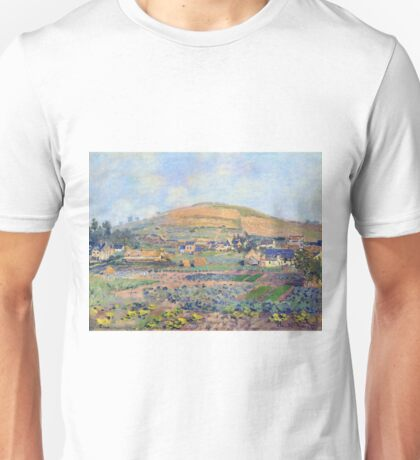 Claude Monet - The Mount Riboudet In Rouen At Spring Unisex T-Shirt