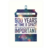 900 Years of Time and Space Art Print