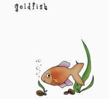 Gold fish by Henny Ng