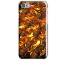 White wine bottles iPhone Case/Skin