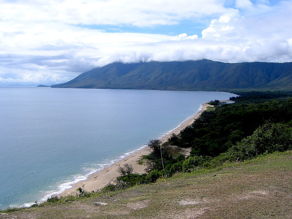 Cairns Coastline by Rhapsody