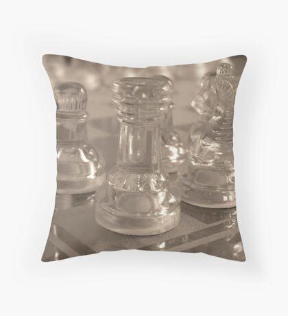 Chess Quarter Throw Pillow