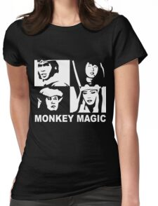 Monkey Magic  ***Now with added text Womens Fitted T-Shirt