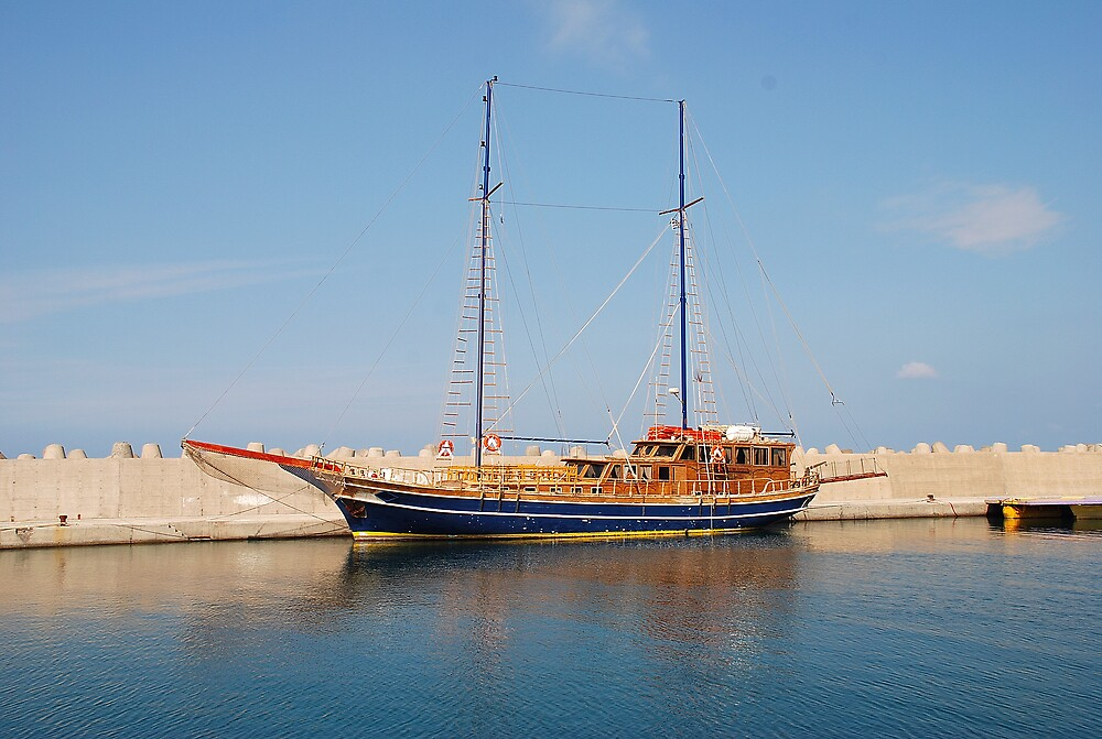 GREEK SCHOONER by kevman