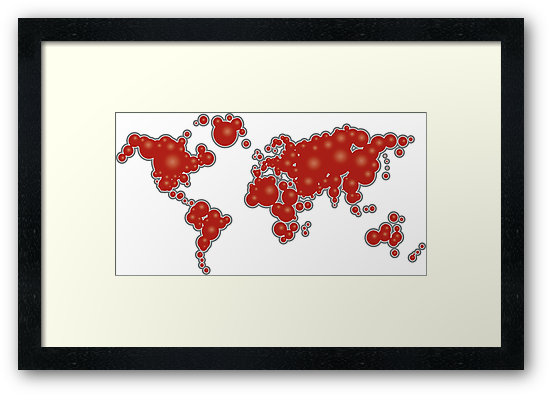 redbubble world by yanmos