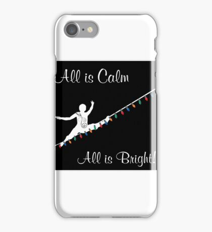 Holiday Light Wire iPhone Case/Skin
