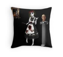 The Bad Seed Throw Pillow
