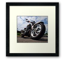 On The Down Low Framed Print