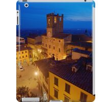 Cortona Tuscany clock tower iPad Case/Skin
