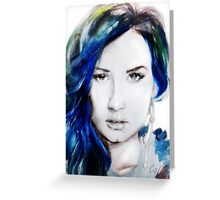 Demi Greeting Card