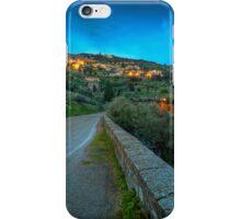 Cortona Tuscany at dusk iPhone Case/Skin