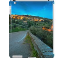 Cortona Tuscany at dusk iPad Case/Skin
