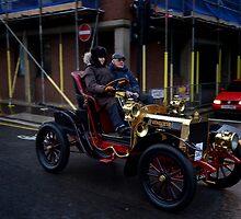 A Veteran Car on the Bonhams London - Brighton run 2014 by EricHands