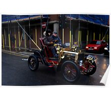 A Veteran Car on the Bonhams London - Brighton run 2014 Poster