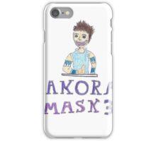 Dexter Manning Makora's mask iPhone Case/Skin