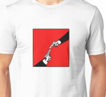 Hardwired for Violence(Stalemate) - Revised version for Michelangelo's Hand of God in the Sistine Chapel Unisex T-Shirt