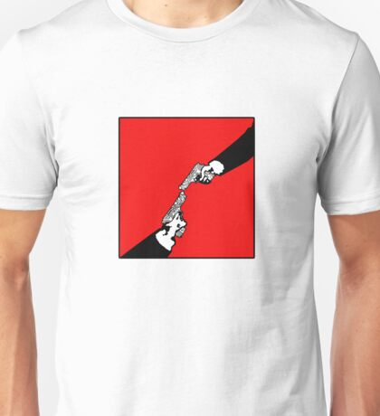 Hardwired for Violence(Stalemate) - Revised version for Michelangelo's Hand of God in the Sistine Chapel T-Shirt