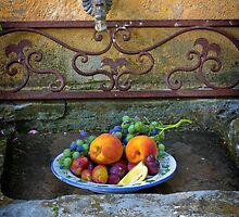 Still life with fruit by SpikeFlutie