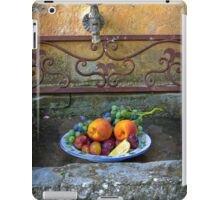 Still life with fruit iPad Case/Skin