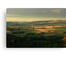 Rural Aberdeenshire Canvas Print
