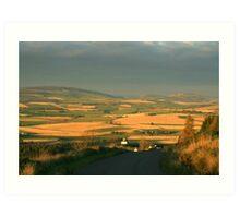Rural Aberdeenshire Art Print