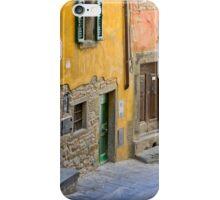 Facade in Cortona Tuscany iPhone Case/Skin