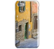 Facade in Cortona Tuscany iPhone Case/Skin