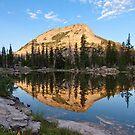 High Mountain Lake by David Kocherhans