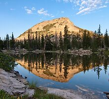 High Mountain Lake by David Kocherhans