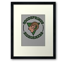 Goodsprings Bighorners Framed Print