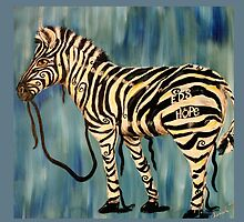 EDS Hope Zebra - Keeping It Together  by cherishedwhimsy