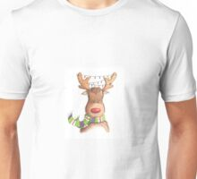 Cute Christmas Rudolph Unisex T-Shirt