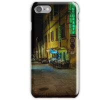 Restaurant in Tuscany iPhone Case/Skin