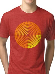 Circle Pattern2 t-shirt Tri-blend T-Shirt