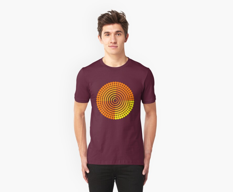 Circle Pattern2 t-shirt by tdoes
