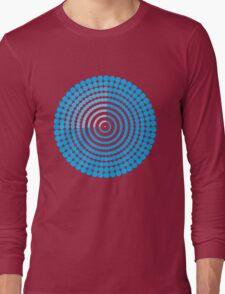 Circle Pattern t-shirt Long Sleeve T-Shirt