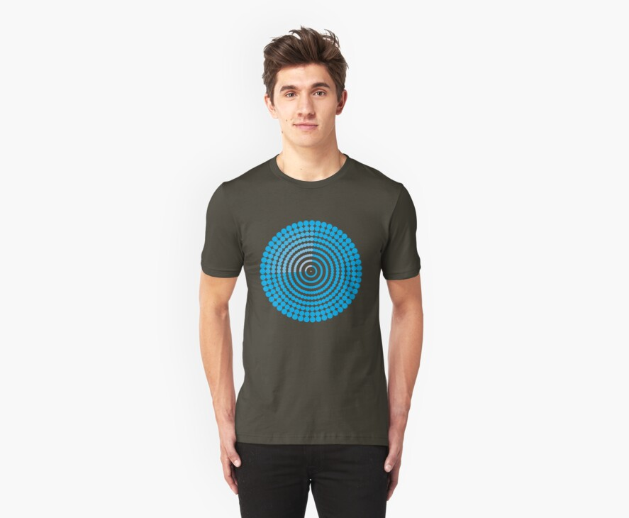 Circle Pattern t-shirt by tdoes