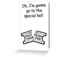 A Special (Shepherd) Hell   Greeting Card