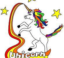Unicorn Power! by pounddesigns