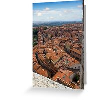Siena Tuscany Greeting Card
