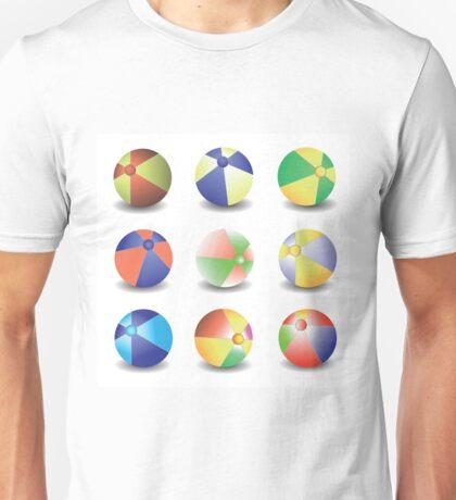 beach balls Unisex T-Shirt