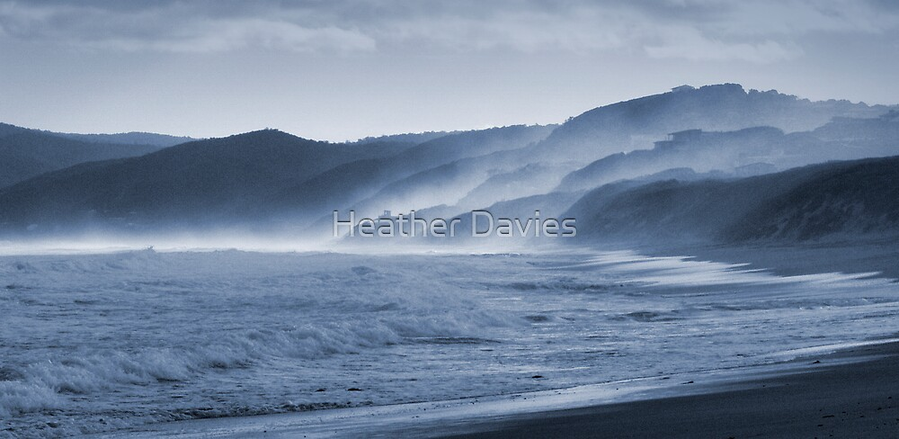 Eastern View, Great Ocean Road by Heather Davies