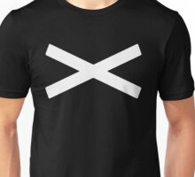 X [White] Unisex T-Shirt