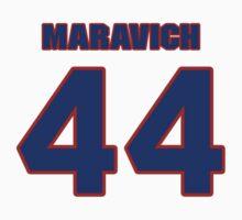 Basketball player Pete Maravich jersey 44 by imsport
