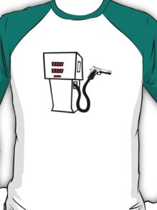 Petrol Bowser Stickup T-Shirt