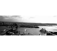 Sydney, the greatest city in the world in Black and White Photographic Print