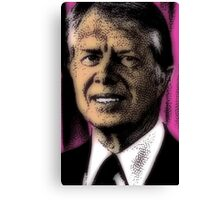 PRESIDENT JIMMY CARTER Canvas Print