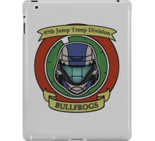 The Bullfrogs Insignia iPad Case/Skin