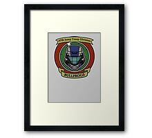 The Bullfrogs Insignia Framed Print