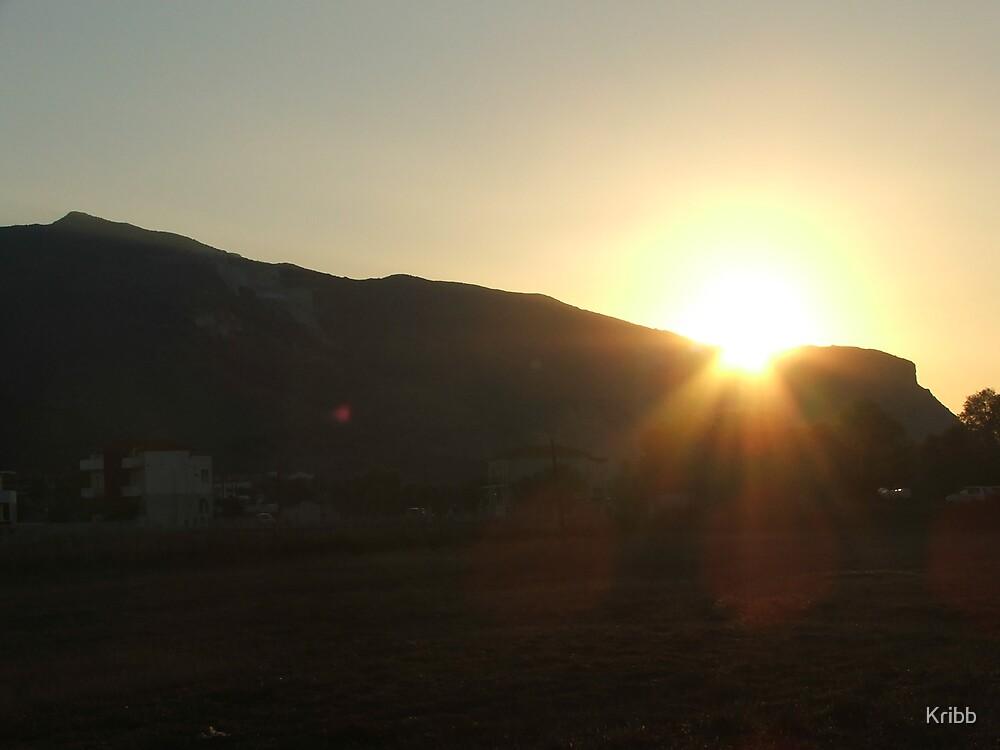 Sunset Paradise by Kribb